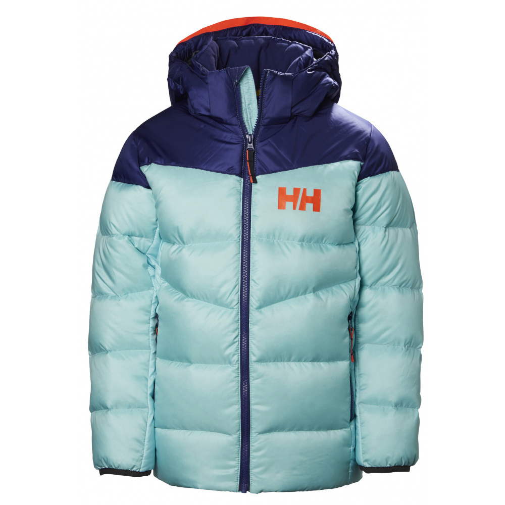 Turkis Helly Hansen Jr Isfjord Down Mix Jacket