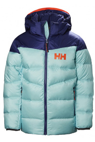 2ef1aa2c Helly Hansen. Turkis Helly Hansen Jr Isfjord Down Mix Jacket