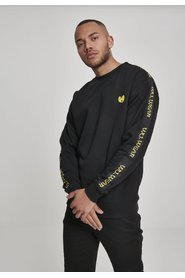 Wu-Tang Clan - Tape Chest Embroidery Crewneck | Sort