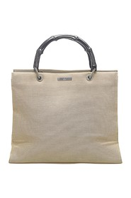 Bamboo Canvas Handbag