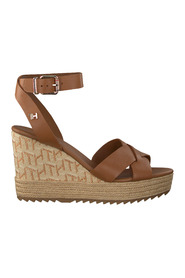 Sandalen Th Raffia High Wedge