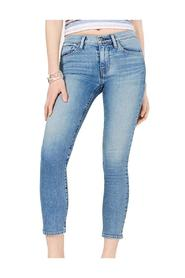 Jeans Denim Tally Cropped Mid-Rise Skinny