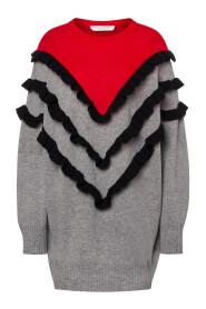Abito a maglione misto cashmere