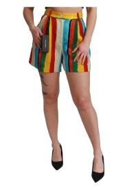 Riga Pittorica Mini Shorts
