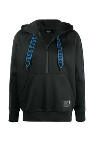 PULLOVER HOODED TOP