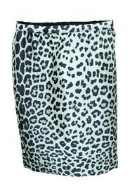 Leopard Print Knee Skirt -Pre Owned Condition Very Good