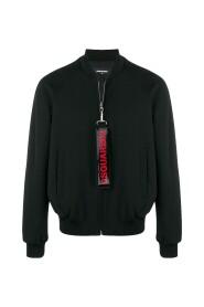 Hashtag Zipper Bomber Jacket