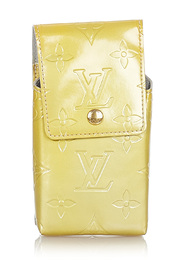 Pre-owned Vernis Cigarette Case Leather