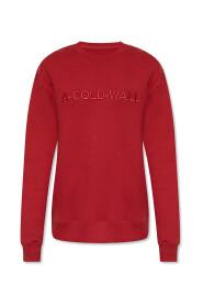 Logo-embroidered sweatshirt