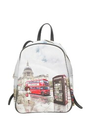 Yes578f2 Backpack London Rainbow
