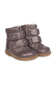 Angulus - Starter TEX-støvle m. velcro og refleks, 2074 - Lavendel Shine