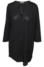 Filippa K Sheer Tunic Blouse Black