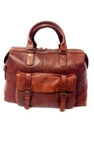 C.A.B MAN SKIN CLEAN BAG BROWN