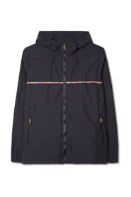 Cagoule Signature Stripe Trim Jacket