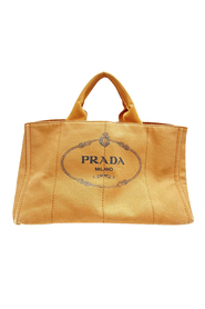 Pre-owned Canapa Logo Canvas Satchel