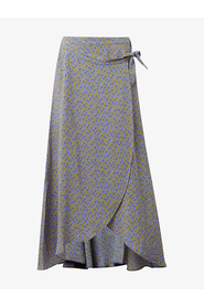 1010550 WRAPPED MIDI SKIRT