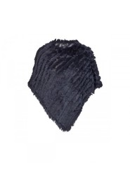 Natures Collection Molly Poncho Rabit, Midnight Blue