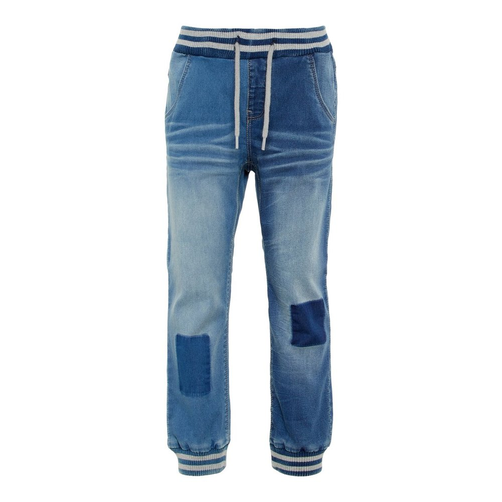 Pull-on jeans baggy fit superstretch