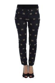 Key Embroidered Slim Fit KATE Jeans