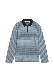 Beer textured polo shirt