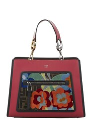 pre-owned Embroidered Runaway Leather Satchel Bag