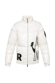 Friesian quilted down jacket