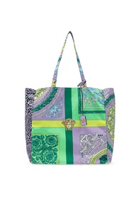 Patterned shopper bag