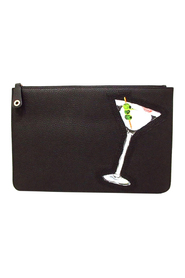 Pre-owned Martini Leather Clutch Bag