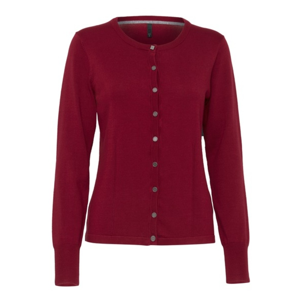 Pulz Sara cardigan Cherry Rose