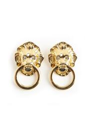 Lion ring earrings