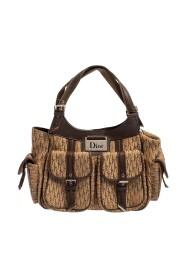 Pre-owned  Diorissimo Canvas Pocket Shoulder Bag