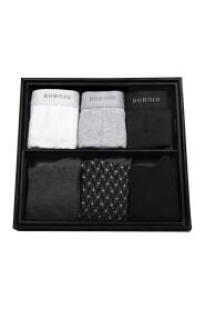 Bokserki męskie (3-pack) -zestaw z 3-packiem skarpet m6 M