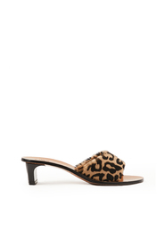 Sandals Peonia Leopard Fur