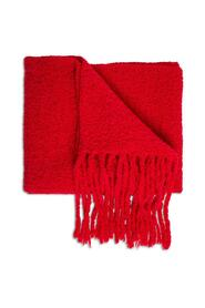Alpaca Blend Scarf with Fringes