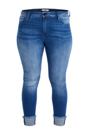 Regular fit jeans Curvy carmen ancle fold raw