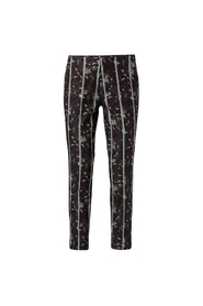 Trousers with flower print