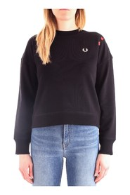 FRED PERRY SG7115 Sweat Women BLACK