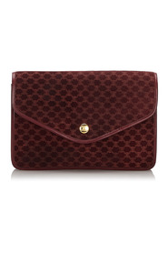 Suede Macadam Clutch Bag