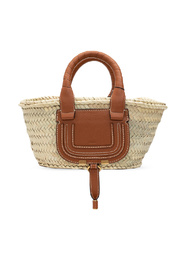 Basket hand bag