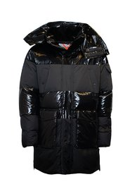 Woven Down Parka