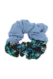 Jasper garden party print scrunchie