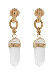 'Cristal' drop earrings