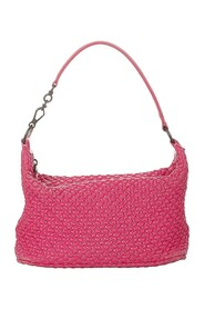 Pre-owned Quilted Bubble Leather Shoulder Bag