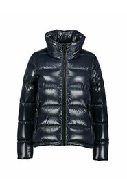 Lacquered Effect Puffer Jacket