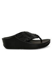 Sort Fitflop Twiss Crystal Sandaler, BN 457
