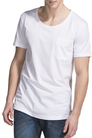 Muchachomao Cotton Loose T Shirt W/ Pocket