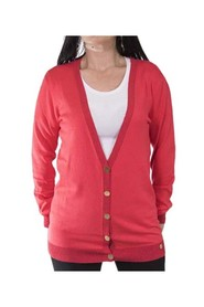 Cardigan with buttons, V-neckline