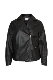 Jacket Leather look