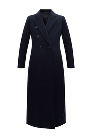 Coat with notched lapels