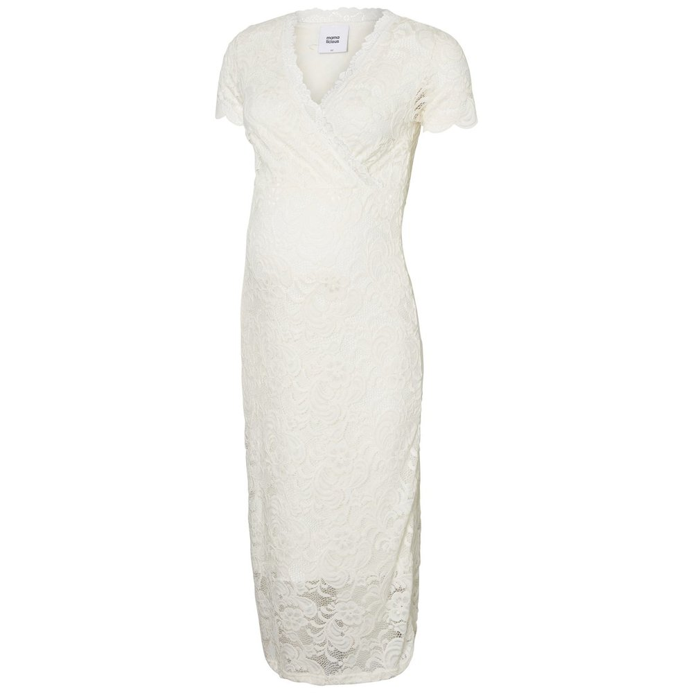 Midi dress Lace cross-over